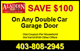 Any Double Garage Door Coupon