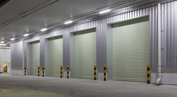 Commercial Garage Door Maintenance and Repair in Austin Texas.