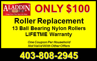 Garage Door Roller Replacement Coupon